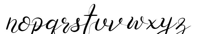 Senoritta Font LOWERCASE