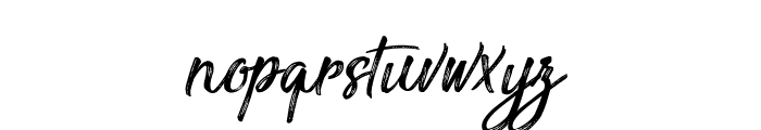 Sensations and Qualities Font LOWERCASE