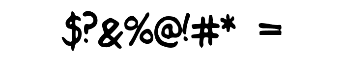 Sensible Schooling Font OTHER CHARS