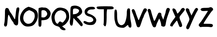 Sensible Schooling Font UPPERCASE