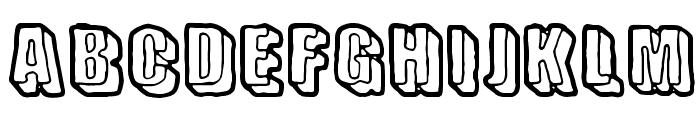 Sensory Cortex Font UPPERCASE