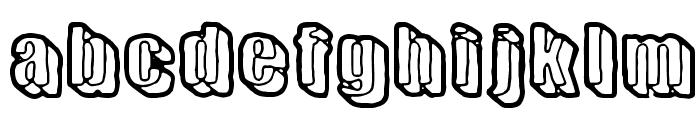 Sensory Cortex Font LOWERCASE