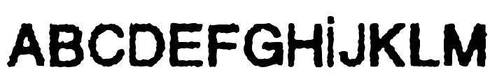 Sentencia Font UPPERCASE