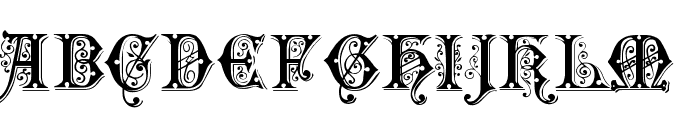 Sentinel Font UPPERCASE