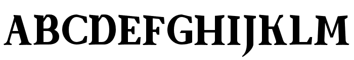 SenzaBella ExtraBold Font UPPERCASE
