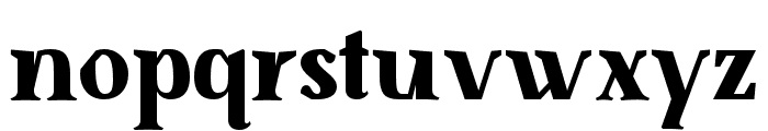 SenzaBella ExtraBold Font LOWERCASE