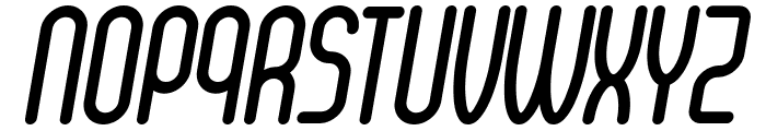 Senzi Bold Italic Font UPPERCASE