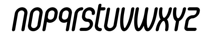 Senzi Bold Italic Font LOWERCASE