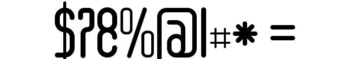 Senzi-Bold Font OTHER CHARS