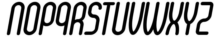 Senzi-BoldItalic Font UPPERCASE