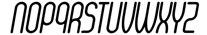Senzi Italic Font UPPERCASE