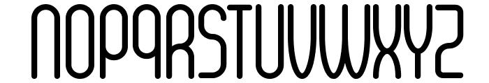 Senzi Font UPPERCASE