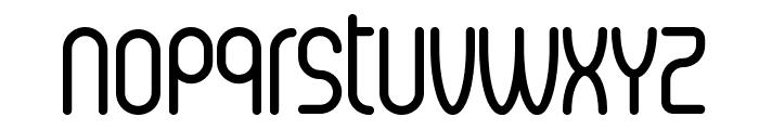 Senzi Font LOWERCASE