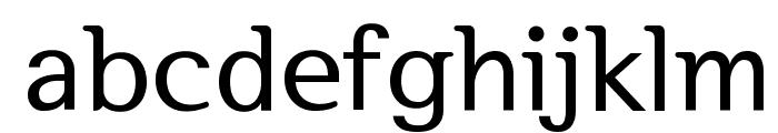 SeoulHangang B Font LOWERCASE