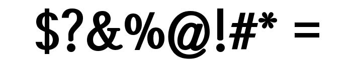 SeoulHangang CBL Font OTHER CHARS