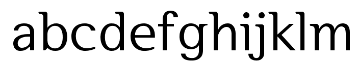 SeoulHangang M Font LOWERCASE