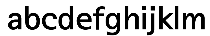 SeoulNamsan EB Font LOWERCASE
