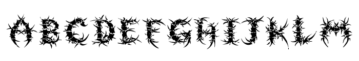 Sepulcra Font UPPERCASE