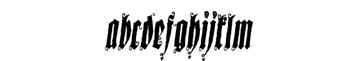 Sepultura Demo Font LOWERCASE