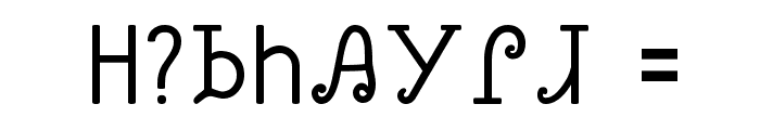 Sequoyah Font OTHER CHARS