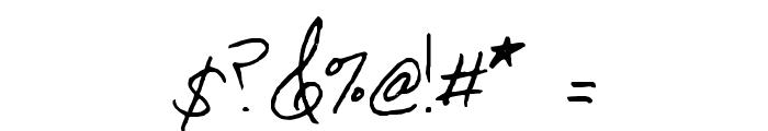 Serafina Font OTHER CHARS