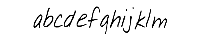 Serafina Font LOWERCASE