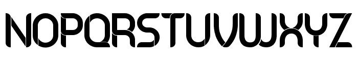 Serbia Regular Font UPPERCASE