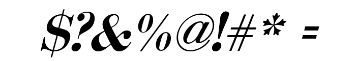 Serbian-Courier-Bold-Italic Font OTHER CHARS