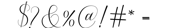 Serendipity Font OTHER CHARS