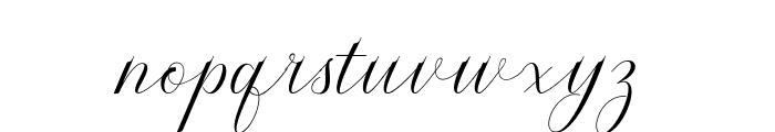 Serendipity Font LOWERCASE