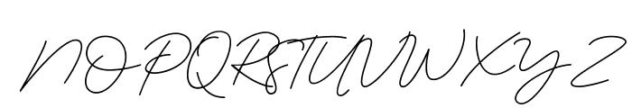 Serenity-Bold Font UPPERCASE