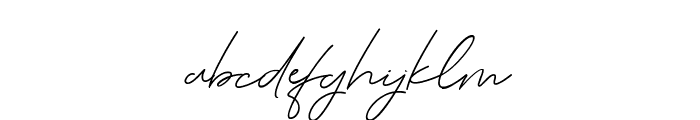Serenity-Bold Font LOWERCASE