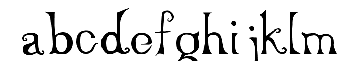 Serenity Font LOWERCASE