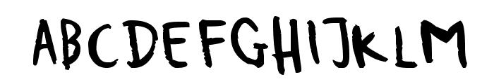 Sergeant Porfolio Font LOWERCASE