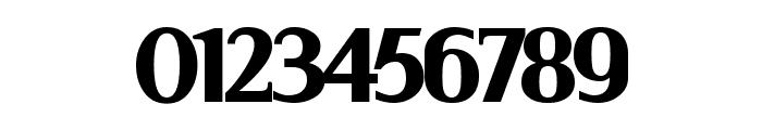 Serif Black Font OTHER CHARS