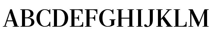 Serif-Bold Font UPPERCASE