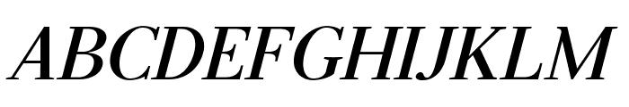 Serif-BoldItalic Font UPPERCASE