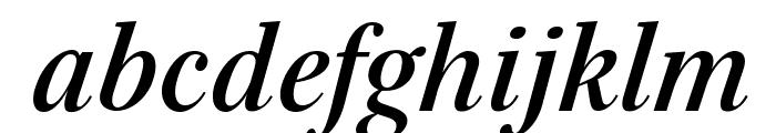 Serif-BoldItalic Font LOWERCASE
