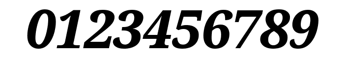 Serif ExtraBold Italic Font OTHER CHARS