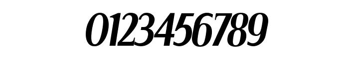 Serif Narrow Italic Font OTHER CHARS
