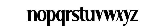 Serif Narrow Font LOWERCASE