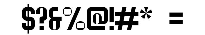 Serif Ngesti Regular Font OTHER CHARS