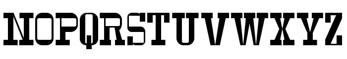 Serif Ngesti Regular Font UPPERCASE