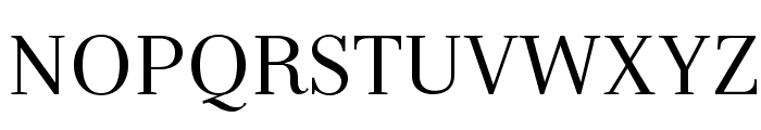 Serif-Regular Font UPPERCASE