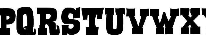 Serif of Nottingham Font UPPERCASE