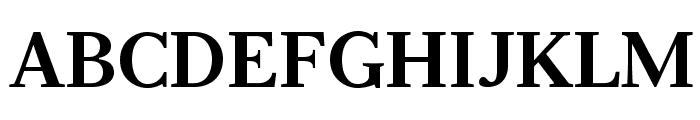 Serif12Beta-Bold Font UPPERCASE