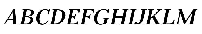 Serif12Beta-BoldItalic Font UPPERCASE