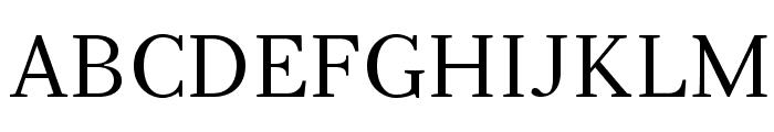 Serif12Beta-Regular Font UPPERCASE