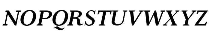 Serif6Beta-BoldItalic Font UPPERCASE