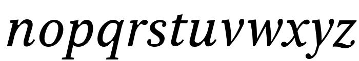 Serif6Beta-Italic Font LOWERCASE